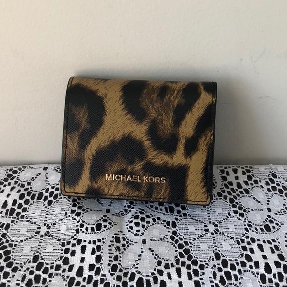 60a2e12a458e55 MICHAEL Michael Kors Bags | Michael Kors Flap Card Holder Wallet ...